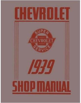 1939 Chevrolet Car Truck Shop Service Repair Manual