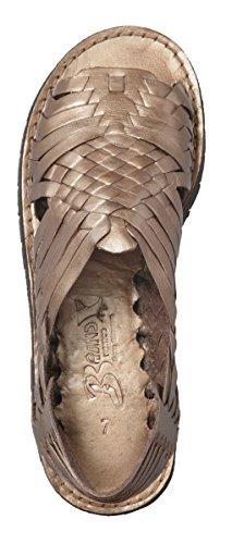 Marca X Huaraches In Pelle Pachuco Sandalo Bronzo