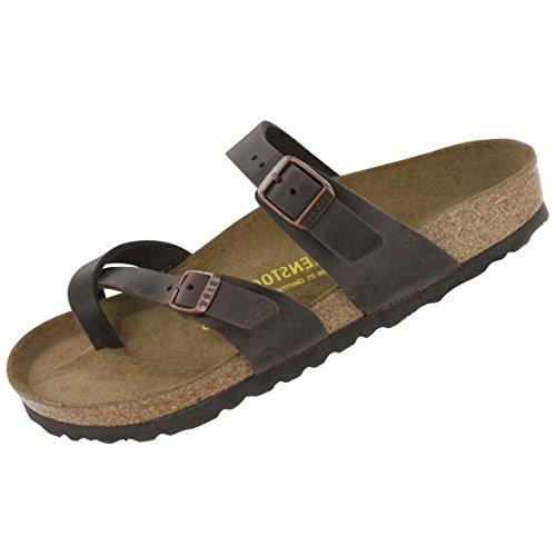 Birkenstock Women's Mayari Adjustable Toe Loop Cork Footbed Sandal Havana 36 M EU by Birkenstock