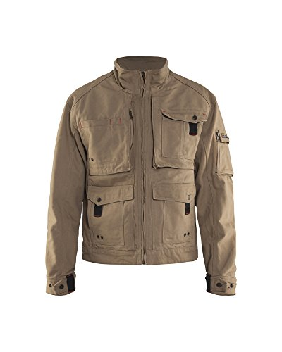 Blaklader Brawny Canvas Jacket Antique Khaki ()