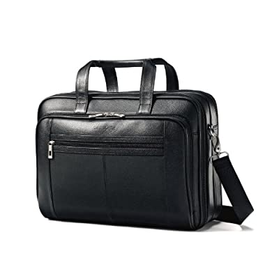 Samsonite Leather Checkpoint Friendly Case by Samsonite
