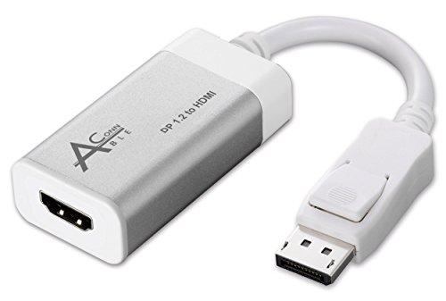 Ableconn DP2HD4K0A Aluminum DisplayPort a HDMI UHD 4k