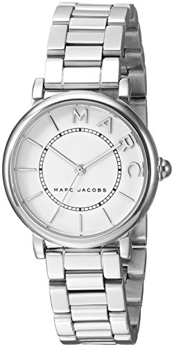 Marc Jacobs Women's 'Roxy' Quartz Stainless Steel Casual Watch, Color:Silver-Toned (Model: MJ3525)
