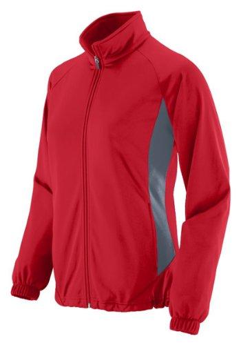 UPC 784371572303, Augusta Sportswear WOMEN'S MEDALIST JACKET M Red/Graphite