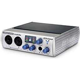 PreSonus FireStudio Mobile 10x6 24-Bit 96 kHz Portable FireWire Recording Interface