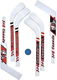 7 Piece Mini-Hockey Set (6 Mini-sticks with 1 Mini-ball)