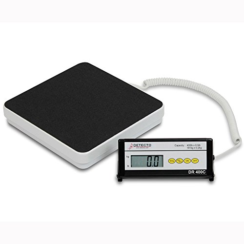 Detecto, Healthcare Scale, Digital, 400 lb x .5 lb / 180 kg x .2 kg