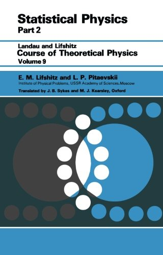 Statistical Physics: Theory of the Condensed State (Pt 2)