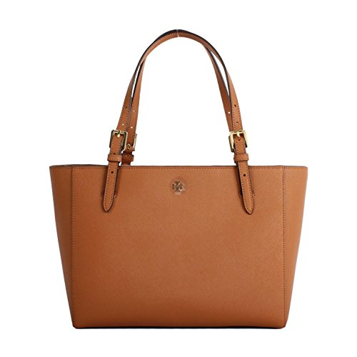 Tory Burch York Small Buckle Tote - Brown Burch Tory