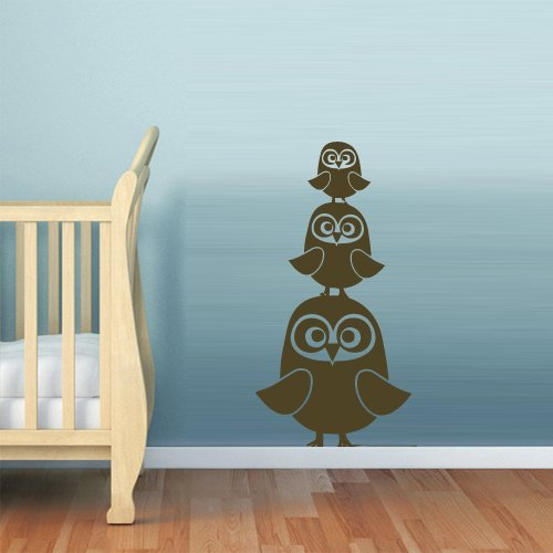 Wall Decal Vinyl Sticker Decor Art Bedroom Nursery Kids Baby Owl (Z613) by Fit You4384
