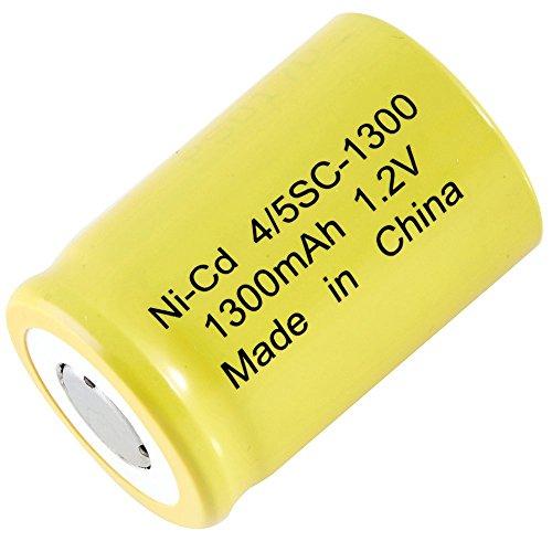 Single Cells 4/5SC-1300 Nickel Cadmium (NICD) Battery 1.2 V