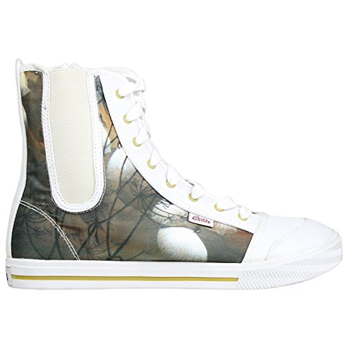 Etnies Womens Skateboard Shoes ZANZA DISNEY W'S WHITE/GRE...