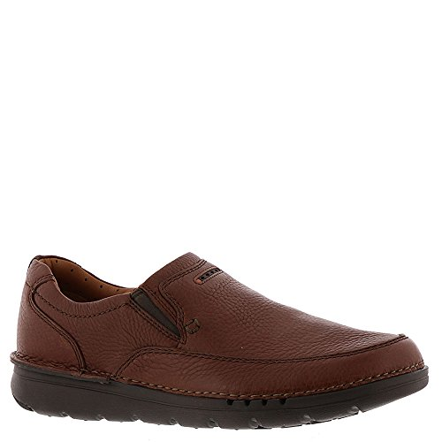 Clarks Unnature Easy Mens Slip On Loafers Brown Leather 8.5 by CLARKS