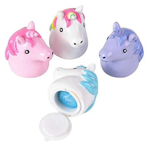 Kidsco Lipgloss Unicorn for Girls - 4 Colors