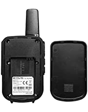 Retevis RT15 Small Walkie Talkie Rechargeable for Adults Kids FRS 16 Channel Lock Vox Encryption Mini 2 Way Radio (1 Pack)