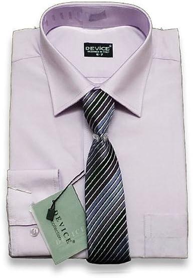 SIRRI PAJES Rosa Camisa Formal Y Set Corbata Boda ...
