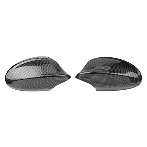 E90 Carbon Fiber - Carbon Fiber Rearview Side Mirror Cover for BMW 3 Series E90 4D Sedan(Pair) (E90 2005-2007)