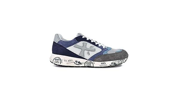 Moda Premiata Hombre ZACZAC4613 Gris Gamuza Zapatillas | Primavera-Verano 20: PREMIATA: Amazon.es: Zapatos y complementos