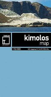Kimolos Mini Map 1:50 000 Terrain Editions
