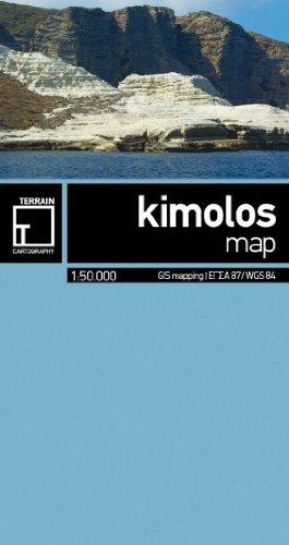 Kimolos Mini Map 1:50 000 Terrain Editions pdf epub