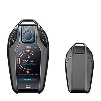 KAKTUS® Coque de Protection pour clé de Voiture à écran Tactile BMW Display Key