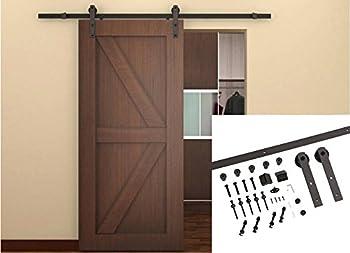 Unionline 6.6 Ft Barn Door Hardware Kit