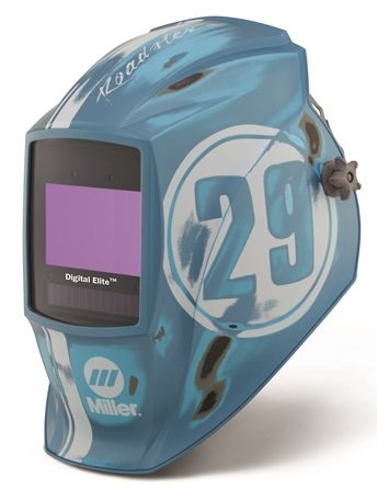 Miller Digital Elite Vintage Roadster Auto Darkening Welding Helmet w/ ClearLight Lens Technology