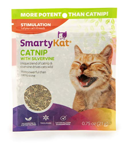 SmartyKat Silvervine and Catnip Resealable Pouch.75 oz