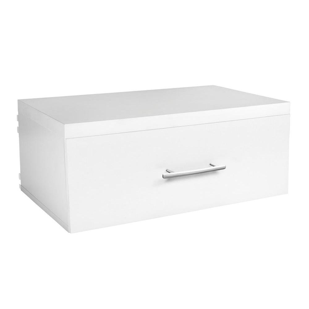 ClosetMaid Elite 9-3/4 in. Drawer in White