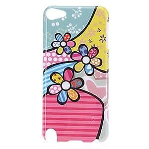 compra Cartoon Flores Patrón protector duro caso para el iPod Touch 5