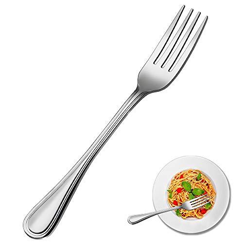 Dinner Fork set, Elegant Life 16-piece Stainless Steel Silverware Forks, Flatware Forks, Mirror Finish & Dishwasher Safe…