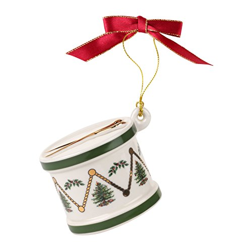 Spode Christmas Tree Ornament, Drum