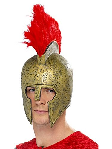 [Adult's Roman Gladiator Helmet] (Mens Perseus The Gladiator Costumes)