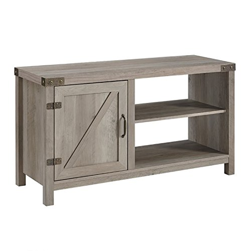 WE Furniture AZ44BD1DGW TV Stand, 44