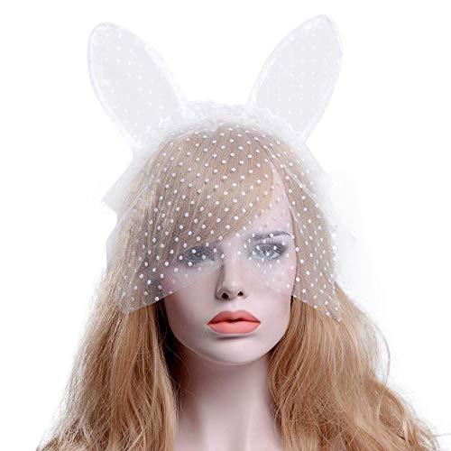 UOKNICE Halloween Party Lace Small Cat Ears Headband