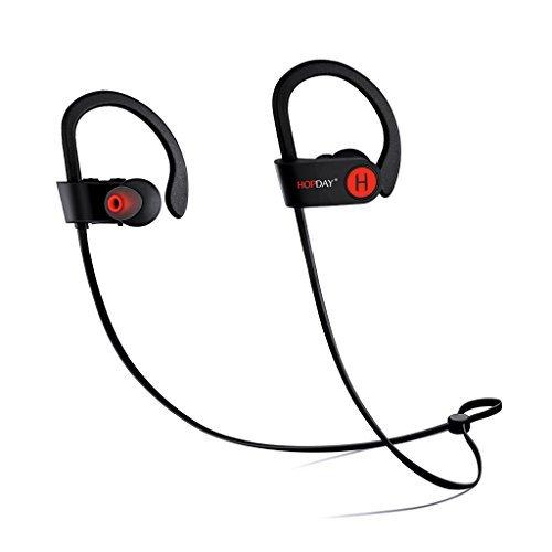 Bluetooth Headphones, Wireless Headphones, HOPDAY in-Ear Bluetooth Earbuds,  Built-in Mic, Stereo Sound, Noise Cancelling IP68 Waterproof Sweatproof