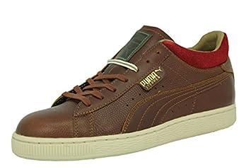 Puma STEPPER CLASSIC LUXE CAMO Zapatillas Moda Marron Rojo Hombre: Amazon.es: Deportes y aire libre