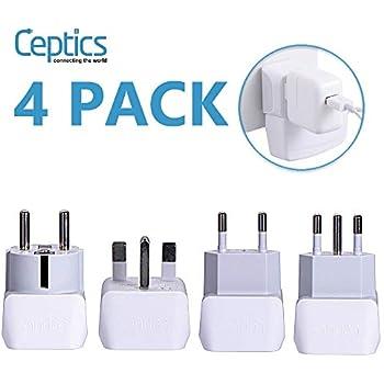 Amazon.com: European Travel Plug Adapter, Tinams ...