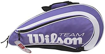 Wilson Padel Team - Paletero , color morado, talla NS: Amazon.es ...