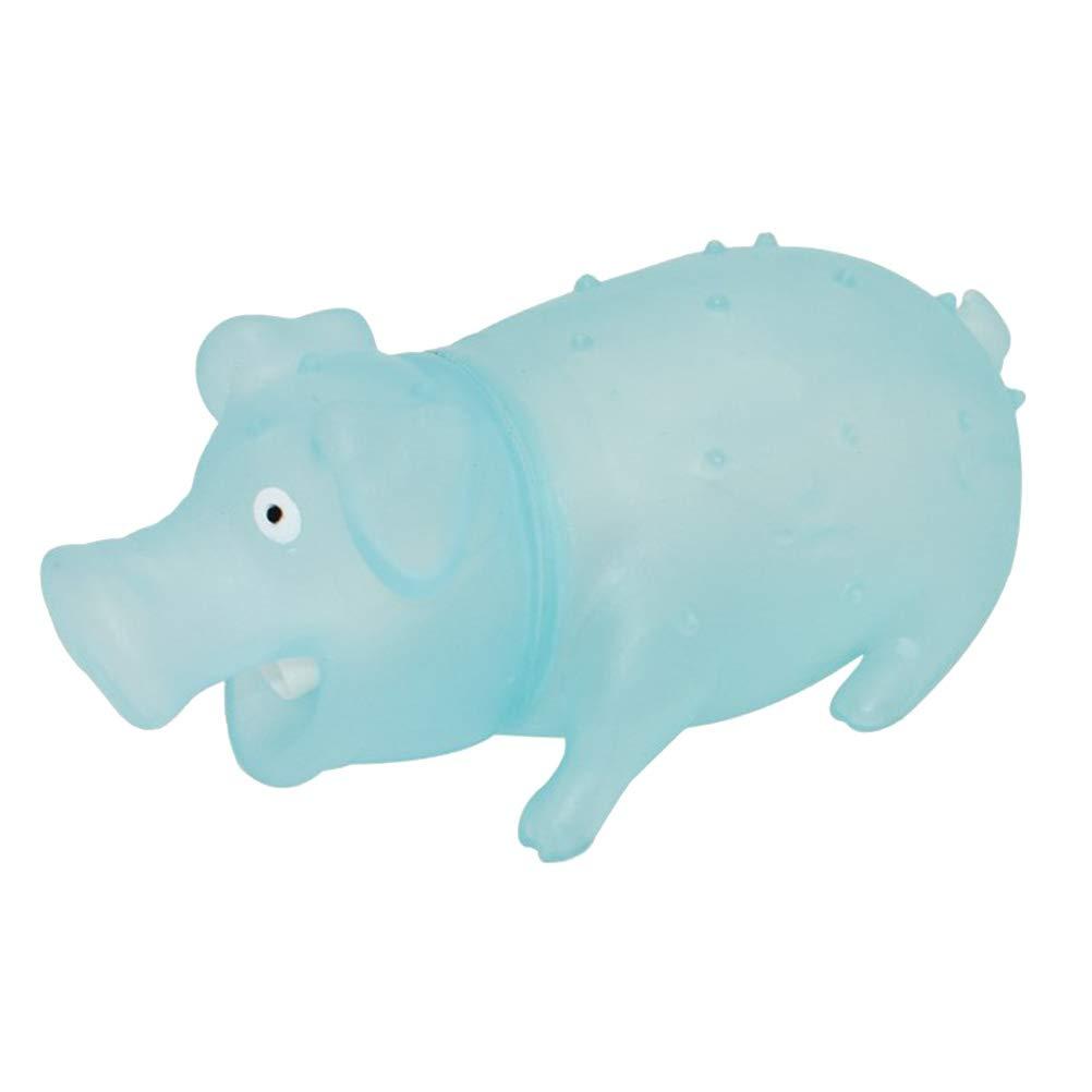 Toyvian Squeeze Glow Glow Glow Screaming Pig Cochon Grincant Jouets Pour Animaux De Compagnie Creative Tricky Toys Taille L (Aléatoire) | Impeccable  f7c09f
