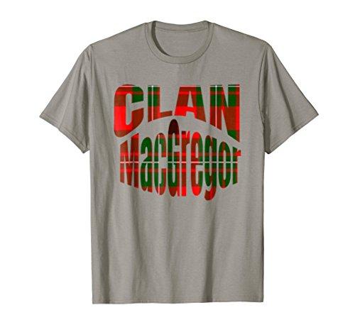 MacGregor Clan Kilt Tartan T-Shirt Namesake Scotland gift