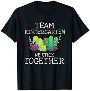 Team Kindergarten Cactus Tee  Back To School  Gi T-shirt | Size S - 5XL