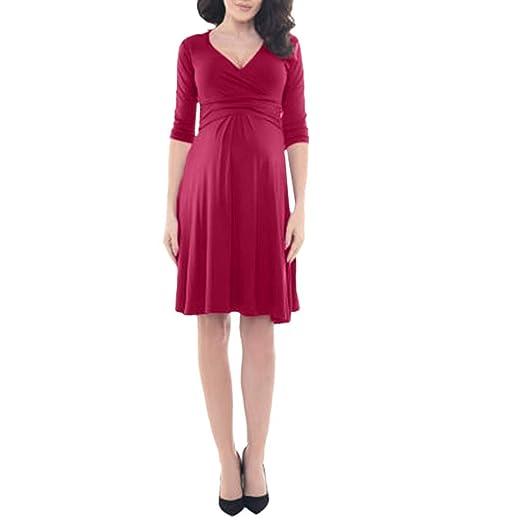 Red Maternity Formal Dresses