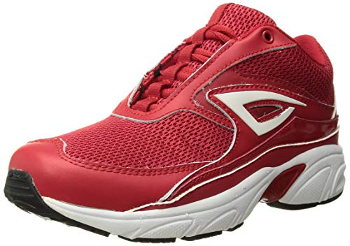 (3N2 Zing Trainer, Red/White, 5.5)