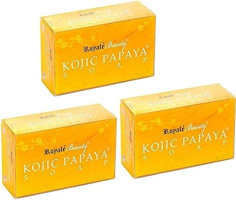 Royal Beauty Kojic Papaya Soap - 3 pieces: Amazon com