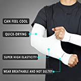Achiou Arm Sun Sleeves Compression UV Protection