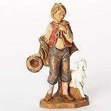 Fontanini Lucas the Little Boy Shepherd Italian Nativity Villager Figurine 54074