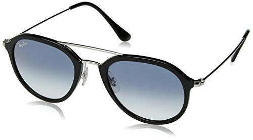 Ray-Ban Unisex RB4253 62923F Sunglasses, Black, - Ray Ban Wood