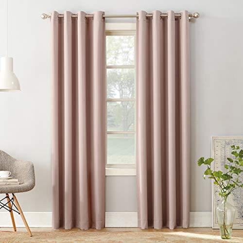 - Sun Zero Barrow Energy Efficient Grommet Curtain Panel, 54