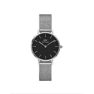 Daniel Wellington Petite Sterling, orologio da donna in argento e argento, 28 mm 12